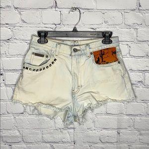 Calvin Klein Jeans Shorts - Calvin Klein denim shorts